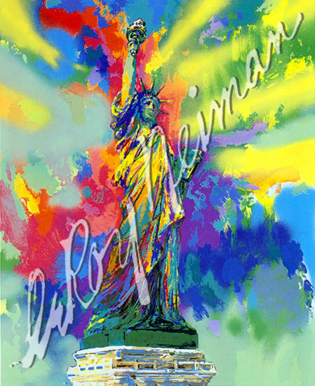 Lady Liberty by Leroy Neiman